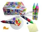 Plastic big pen candy fruit flavor Halal Sweet Jelly Bean
