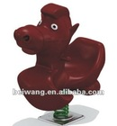 lovely plastic animal spring horse for kids(BW-1B2059)