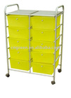Plastic Storage Cart with wheels (G-DC036)