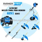 Multi Brush Cutter 52cc 6 in 1 2 Stroke Multi Purpose Tools