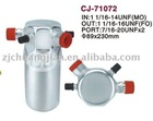 2012 HOT Auto AC receiver drier of aluminum