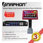 Naphon: Latest Intelligent Handwriting Sing Karaoke Hard Drive Player KOD8+S19