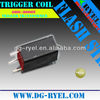 Trigger coil for strobe flash