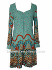 ladies' cotton dress/ fashion dress/summer dress(058)