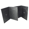 7mm Double Black DVD Case