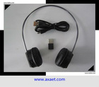 10 meters digital 2.4G USB wireless headphone with hidden MIC