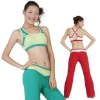 women's gym workout wear with bra top