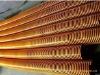 Temperature 150 degrees of ventilation tube