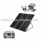 Small solar home lighting kit