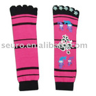 sock,socks,five toe socks,acrylic socks,socks with lurex,girl socks