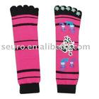 sock,socks,five toe socks,acrylic socks,socks with lurex,girl socks
