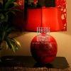 L111-80.10 (big)Peony Antique Table Lamp