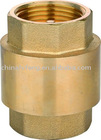 Brass check valve with Plastic spool for water