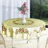 round table cover/pvc printed table cover/non-phthalate table cover
