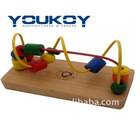educational simple wooden baby toy