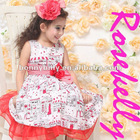 2012 Hot Sell Sweet 100% Cotton Baby Dress