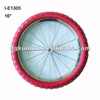 """16"""" bicycle whee eva tire and steel"""