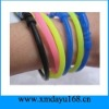 Custom Rubber Band Shape Silicone Wrist Band