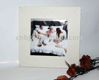 chic design faux leather decorative christmas photo frame