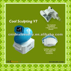 Cool sculpting V7 Vacuum Cavitation Cryolipolysis Slimming machine (S066)