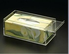 clear acrylic kitchen napkin box