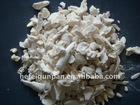 Calcined bone ash pieces