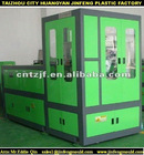 Hydraulic plastic cap compression molding machine