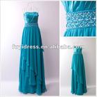 Hot Sale Off-shoulder Beaded Evening Dress