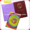 promoton gift custom pvc passport pouch/passport wallet