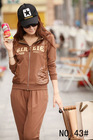 2012 hot sell woman's auturn clothing vogue jogging trackit suit