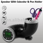 E6225-Speaker with Calendar & Pen holder