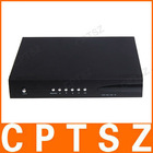 4CH DVR H.264 Support BNC/RJ45 port and 32GB SD card storage