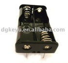 3V THM plastic 2 AA cell battery holder