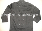 mens black chef coat