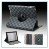 Hot!!! For ipad2 Popular design & Fabulous shaping 360 degree pu case