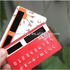 mini pocket credit card calculator