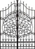 Wrought Metal Gate