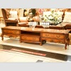 French wooden antique living room cabinet floor cabinet YSL-ZY-2