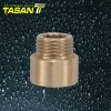T600 14 Brass extension connector M/F