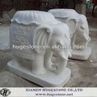 Cute Elephant marble statue,garden statues