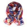 Fashionable Lady's Voile Printed Silk Scarf