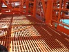 fiberglass deck grating, made by phenolic resin, fire resistanace