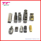 custom metal cord end stopper supplier