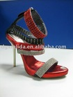 Shoes accessory with rhinestone