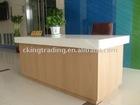 Company Wood Service Desk Stand