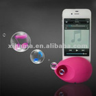 Music Egg Shaped Stand Speaker Loudspeaker Amplifier for iPhone 4/4S