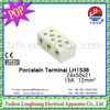 Porcelain Terminal Block LH1538 15A 24*50*21MM! terminator quality electrical products