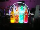 2012 new design beverage led display /led bottle glorifier for bar using