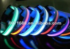 hot sale LED Pet Collar led flashing collar led nylon collar