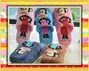 new design plush slipper